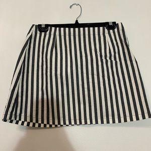 Forever 21 linen mini skirt
